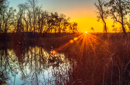 HDR Sunrise on Dyke's Marsh by Geoff Livingston
