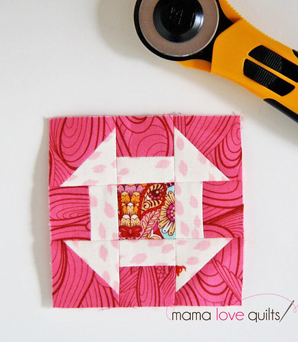 IG Mini Quilt Swap_Churn Dash