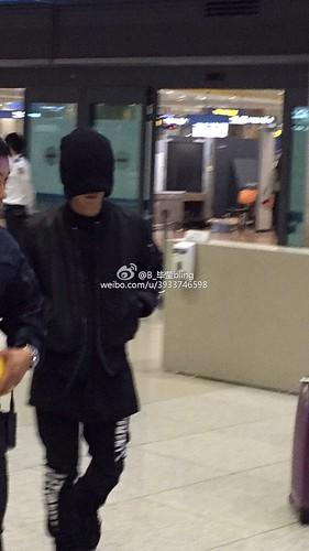 BIGBANG arrival Seoul 2015-10-26 weibo (1)