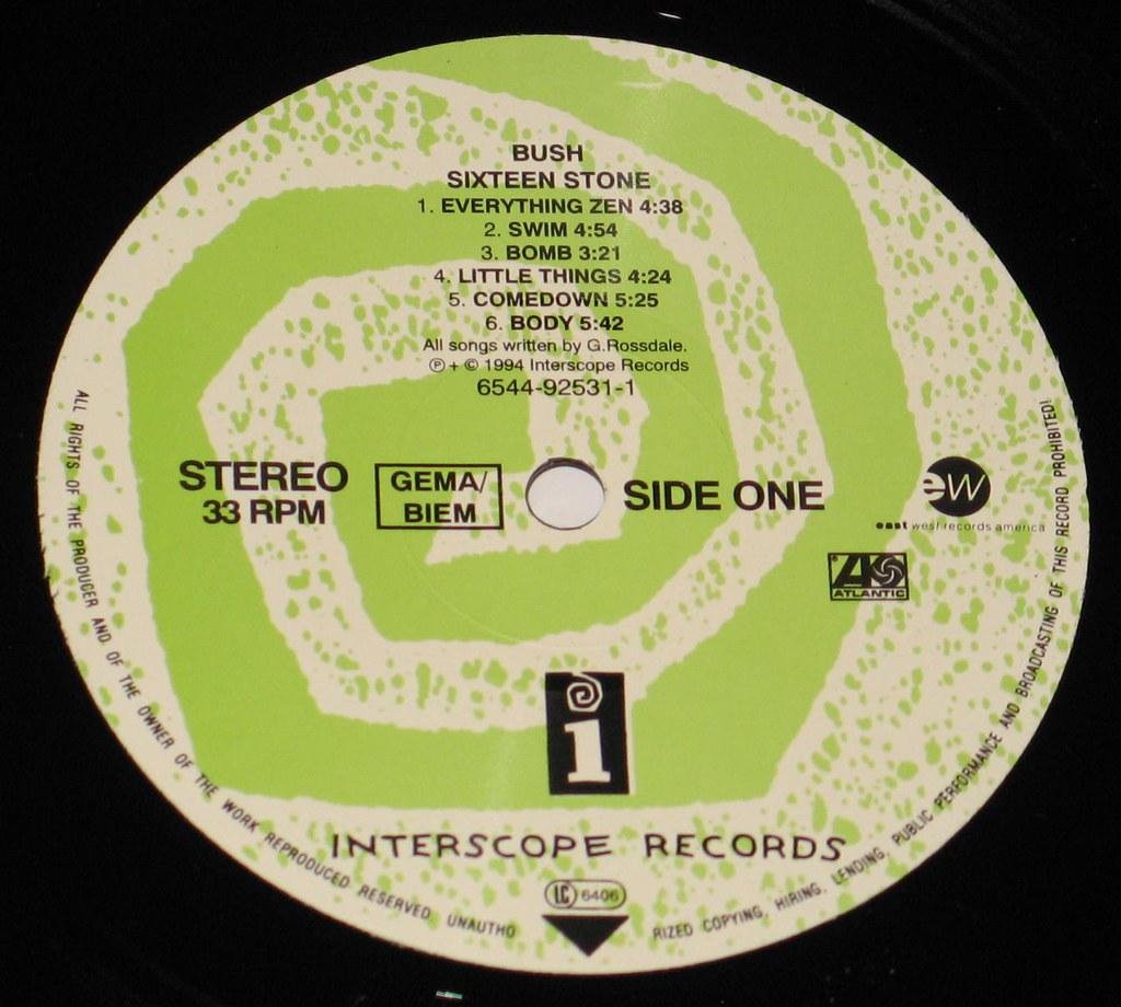 Bush - Sixteen Stone 12
