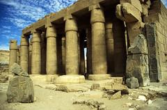 Ägypten 1999 (433) Theben West: Ramsesseum