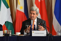 U.S. Secretary of State John Kerry delivers remarks at the ASEAN Foreign Ministers Meeting, at the Palace Hotel, in New York City, New York on September 23, 2016. [State Department Photo/Public Domain]
