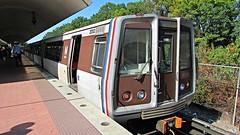 WMATA Metrorail 2000 Series Railcar