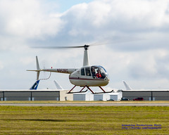 R-44 Coming In From A Scenic KPAE Flight