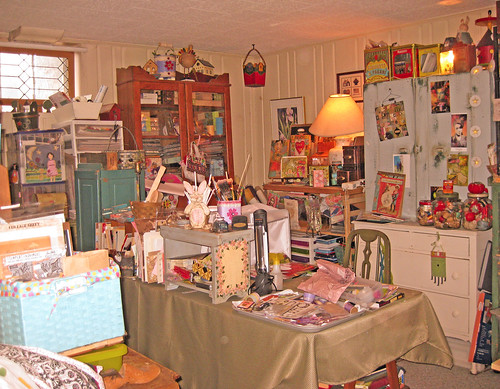 Laura's studio