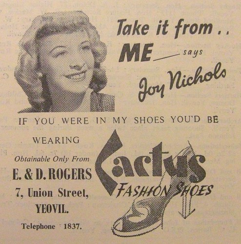 1951 - Cactus Shoes by BobOsborn