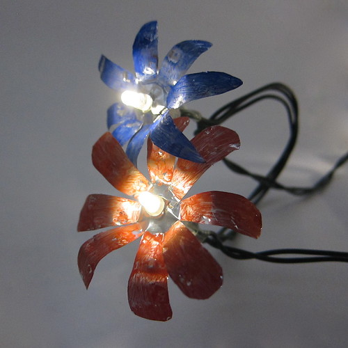 TIn Flower Fairy Lights