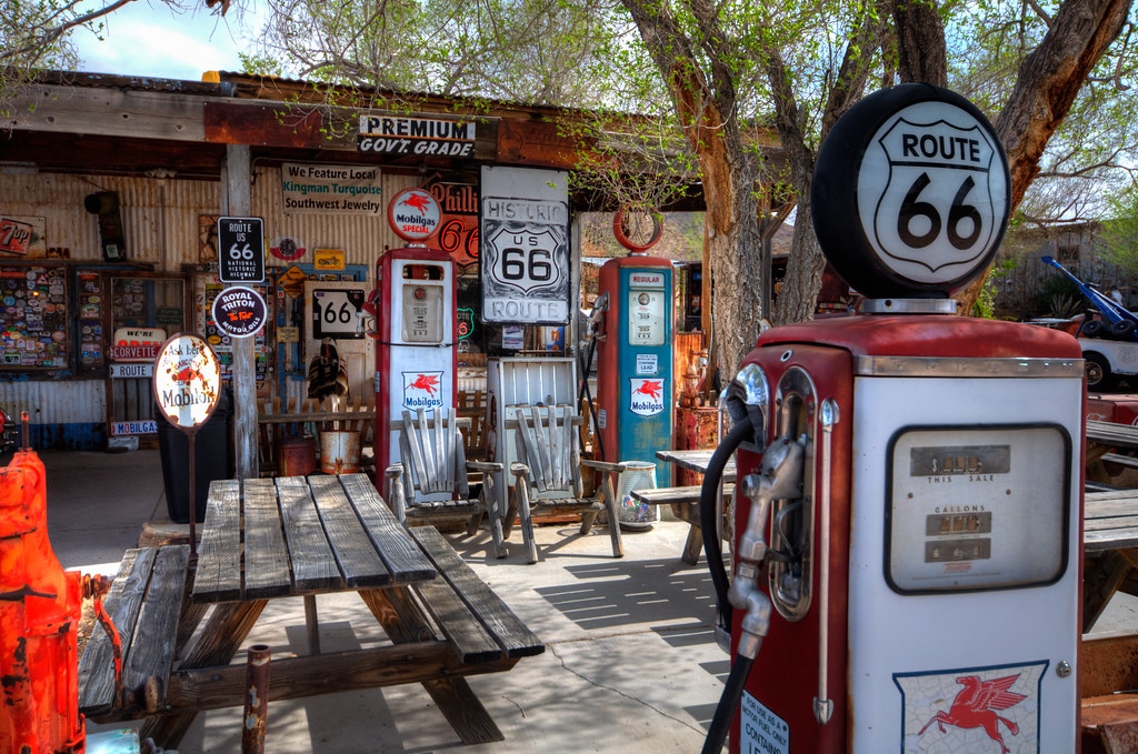 Hackberry, Arizona, on Old Route 66