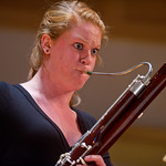 First Year Convocation -- Emily Stich plays bassoon at the First Year Convocation