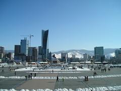 Ulaanbaatar -  Sükhbaatar Square