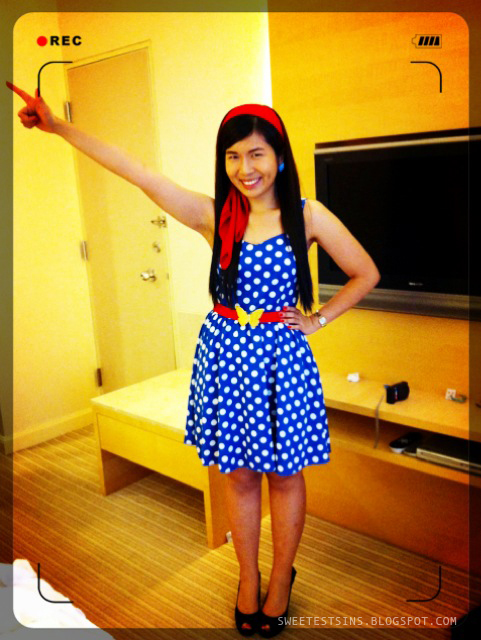singapore beauty blog sweetestsins by singapore beauty blogger patricia tee retro dnd outfit dress
