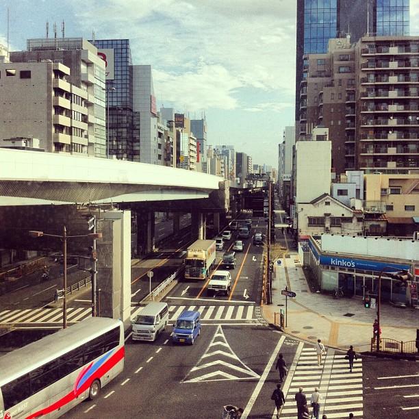 Good morning! Sunny day in Tokyo. #tokyo #ichigonewjourney