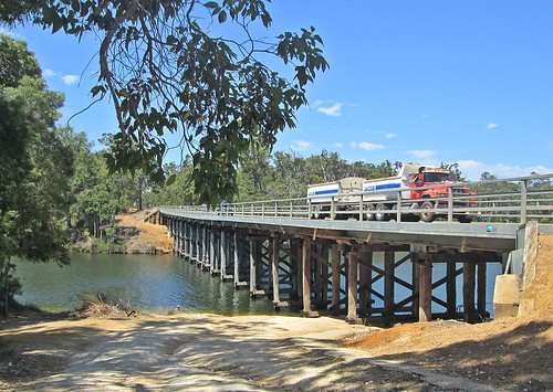 Alexandra Bridge Over The Blackwood River - Brockman Highway Near Karridale, Western Australia