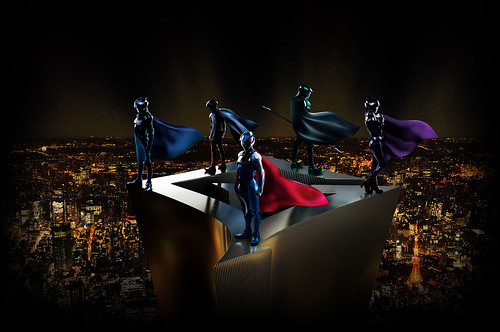130411(4) - 真人電影版《科學小飛俠》敲定8/24上映,最新海報、五人戰鬥裝、新演員與預告片大公開!