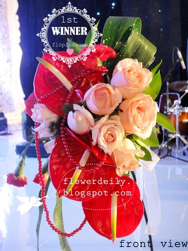 wedding hand bouquet competition ipbi 2013 14