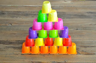 Yogurt Cups Pyramid
