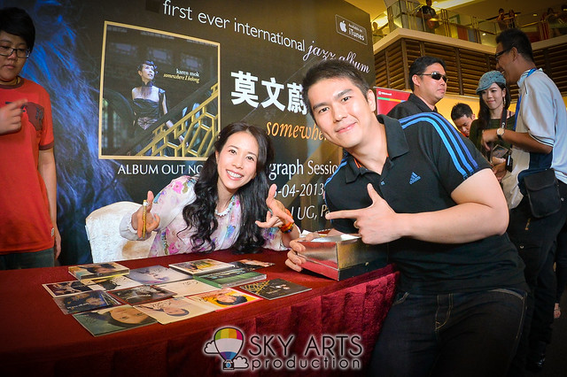 Karen Mok 莫文蔚 Somewhere I Belong Promo Tour in Malaysia 大馬宣傳之旅 [Paradigm Mall]