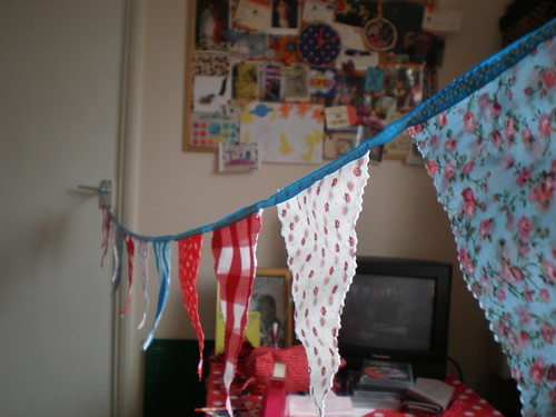 Bunting for Sian