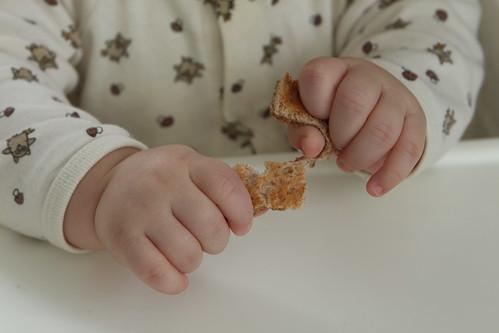 Elliott's Clobberin' Hands Tearing Toast