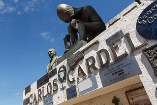 Image of Carlos Gardel. argentina buenosaires tango gardel carlosgardel cementery chacarita autonomouscityofbuenosaires