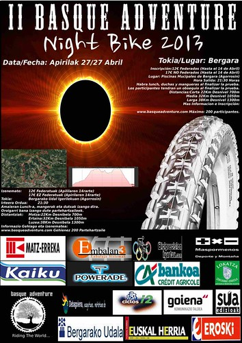 II Basque Adventure Night Bike – 27 Abril 2013 – Bergara