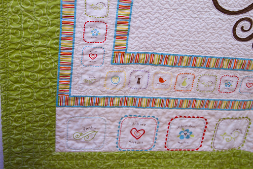 Riley Blake Good Life Panel Quilted