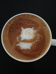 Today's latte, The Golang Gopher.