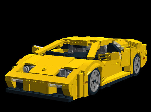 Lamborghini Diablo VT 6.0 front-side