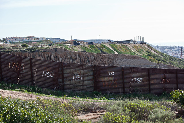 Border Fence from Flickr via Wylio