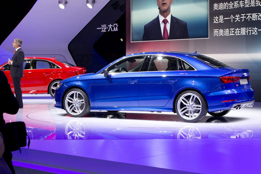 Audi a3 Sedan Blue Audi a3 And s3 Sedan in