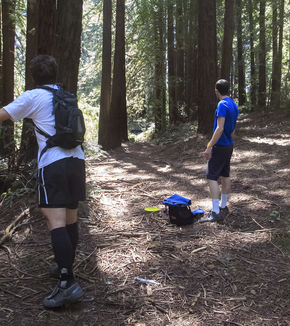 Joaquin Miller disc golf