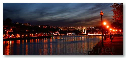 Porto by night... by VRfoto