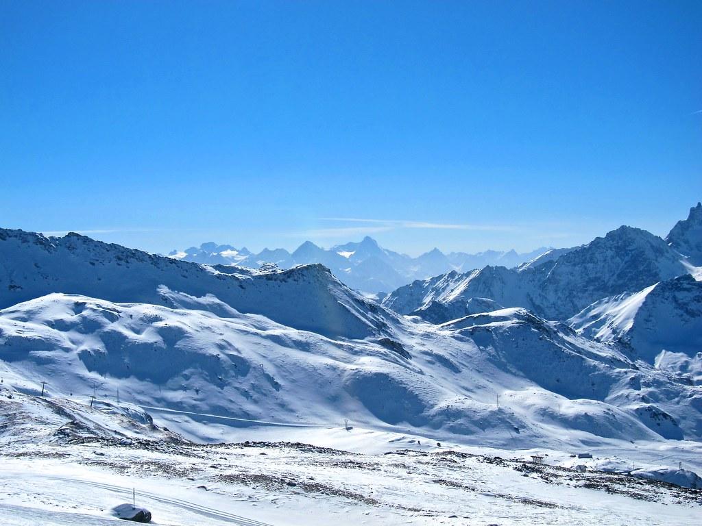 Skiing Cervinia