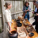 Food tasting in the Medieval Cloister garden