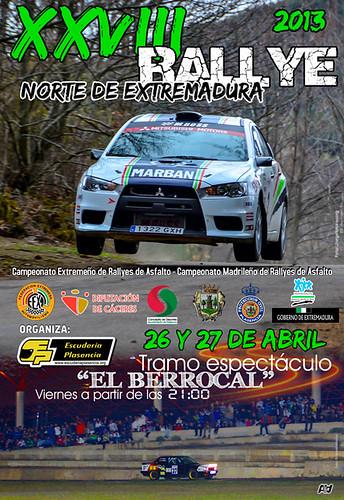 Rallye Norte de Extremadura 2013