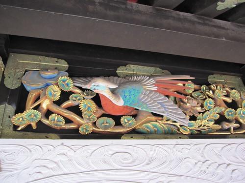 東廻廊(眠り猫のある所)の装飾(日光東照宮) by Poran111
