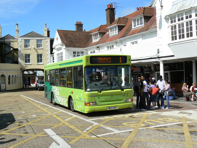 Southern Vectis 308 in Cowes