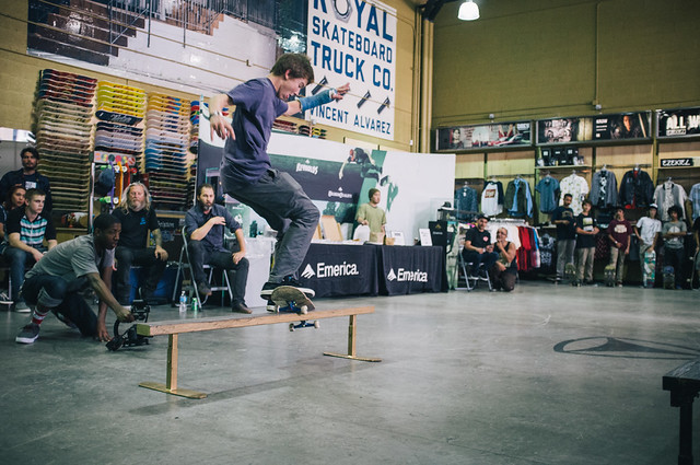 Active x Emerica Flatbar Friday @ El Segundo