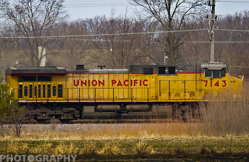 Union Pacific 7143 by Ricky L. Jones Photography