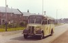 0261 Fyffe's Tours (Dundee).  - ATS689  Bedford OB - Duple. {1949}. Arbroath, 15 August 1976.