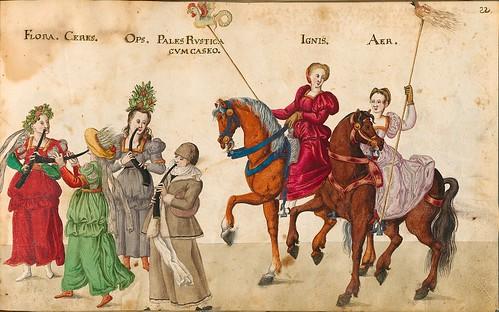 005-Las cuatro estaciones-Descripción de las ocho festividades celebradas durante los juegos…1596-Biblioteca Estatal de Baviera