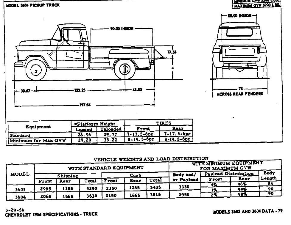 1956 Chevrolet 3600 Project Pictures Page 7 Trifive