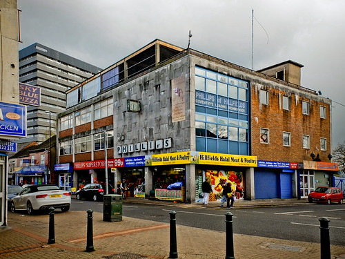 """Phillips of Hillfields"" (Completed 1961) King William Street Coventry."