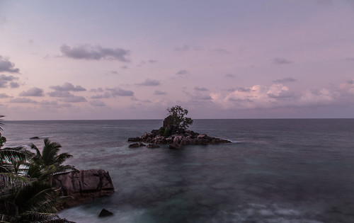travel water sunrise island exposure seychelles longtime