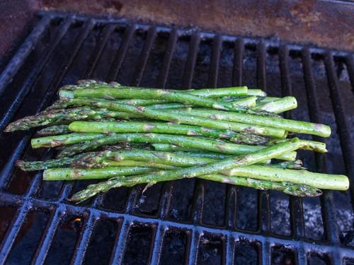 Seared Asparagus