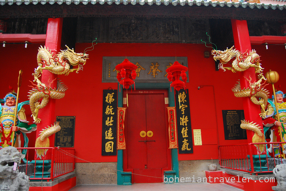Temple in China Town Kuala Lumpur