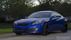 executive car(0.0), infiniti g(0.0), infiniti(0.0), automobile(1.0), automotive exterior(1.0), hyundai(1.0), wheel(1.0), vehicle(1.0), automotive design(1.0), rim(1.0), mid-size car(1.0), hyundai genesis coupe(1.0), bumper(1.0), personal luxury car(1.0), land vehicle(1.0), luxury vehicle(1.0), coupã©(1.0), sports car(1.0),