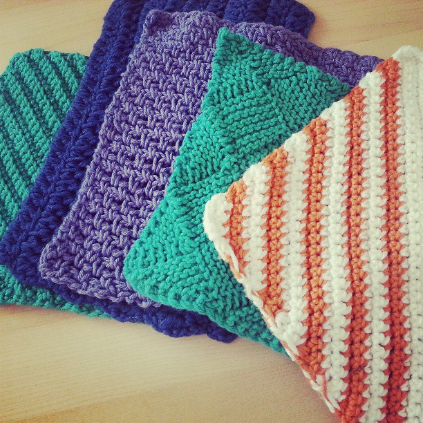 Dishcloths #wipitwed