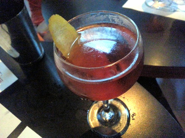 Comme Ca cocktail Greenpoint by Caroline on Crack