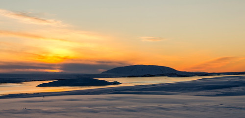 sunrise landscape iceland south thingvellier nikond7000